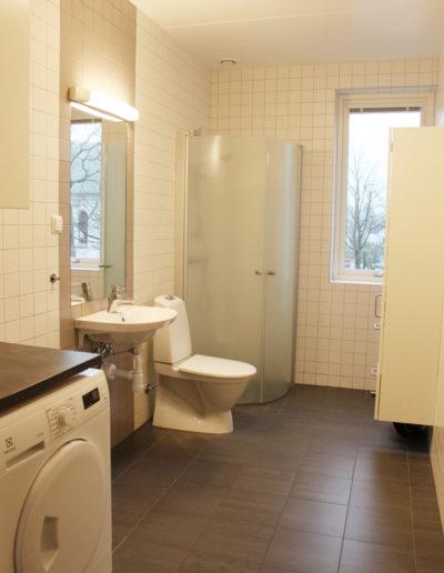 Badrum i lägenhet