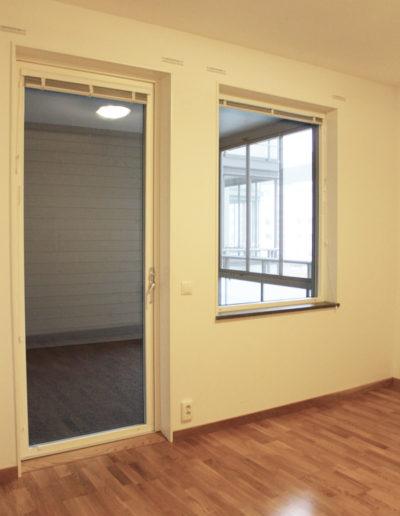 Sovrum i lägenhet